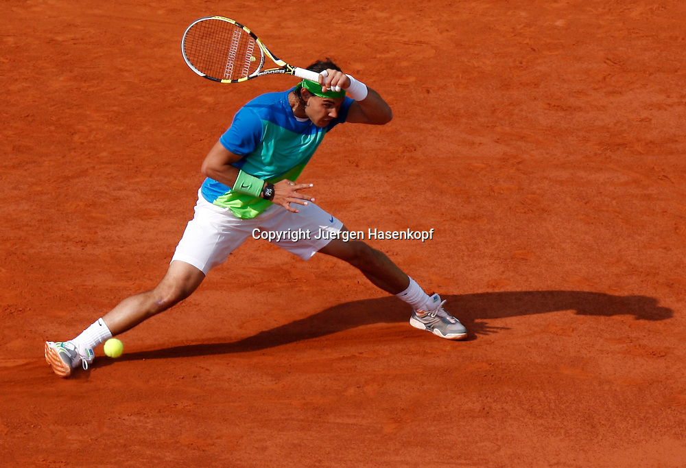 French Open 2010, Roland Garros, Paris, Frankreich,Sport, Tennis, ITF Grand Slam Tournament, ..Rafael Nadal  (ESP) ....Foto: Juergen Hasenkopf..