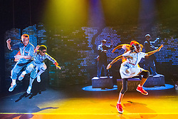 © Licensed to London News Pictures. 09/08/2013. Kate Prince and her award-winning dance company ZooNation return to the Southbank Centre with their twist on The Wizard of Oz: 'Groove on Down the Road'. Picture shows Portia Oti (Dorothy). Photo credit: Tony Nandi/LNP