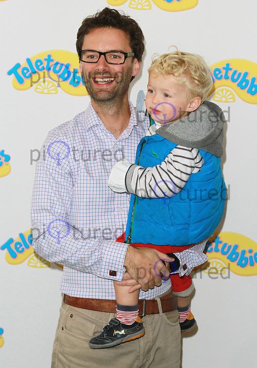 Tom Pellereau, Teletubbies - World Premiere, BFI Southbank, London UK, 25 October 2015, Photo by Brett D. Cove
