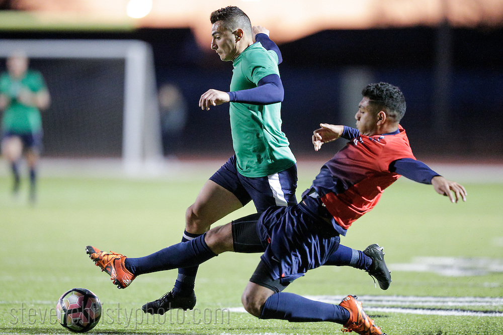 February 15, 2017: OKC Energy FC plays the Rogers State University Hillcats in a USL preseason game at Speegle Stadium in Oklahoma City, Oklahoma.