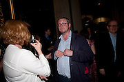 MARGOT HENDERSON; FERGUS HENDERSON, The Galleries of Modern London launch party at the Museum of London on May 27, 2010 in London. <br /> -DO NOT ARCHIVE-© Copyright Photograph by Dafydd Jones. 248 Clapham Rd. London SW9 0PZ. Tel 0207 820 0771. www.dafjones.com.
