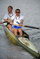 Rok Kolander and Tomaz Pirih at International competition in Bled, on April 22, 2006, Bled, Slovenia. (Photo by Vid Ponikvar / Sportal Images)./ Sportida)