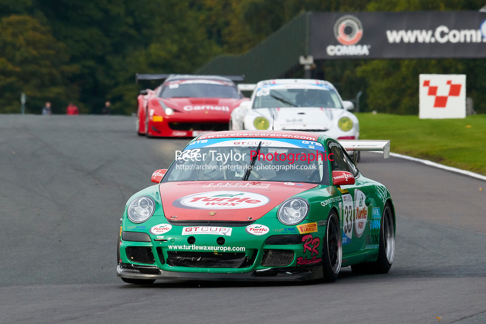 #33 Mike SELLAR Porsche 997 GT3 Cup during GT Cup - Race 2 as part of the MSVR Oulton Park 10th October 2015 at Oulton Park, Little Budworth, Cheshire, United Kingdom. October 10 2015. World Copyright Taylor/PSP. Copy of publication required for printed pictures.  Every used picture is fee-liable.