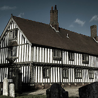 The timber framed guildhall in Eye Suffolk England