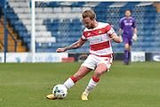Doncaster Rovers Midfielder, Harry Middleton on the ball during the Sky Bet League 1 match between Bury and Doncaster Rovers at the JD Stadium, Bury, England on 9 April 2016. Photo by Mark Pollitt.
