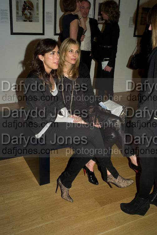JESSICA DE ROTHSCHILD AND KIM HERSOV, Vanity Fair Portraits: Photographs 1913-2008. Hosted by Burberry and Vanity Fair. National Portrait Gallery. London. 9 February 2008.  *** Local Caption *** -DO NOT ARCHIVE-© Copyright Photograph by Dafydd Jones. 248 Clapham Rd. London SW9 0PZ. Tel 0207 820 0771. www.dafjones.com.