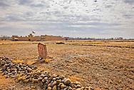 Bents Old Fort National Historic Site, La Junta, Colorado, gravesite Edward Dorris stagecoach driver died 1865