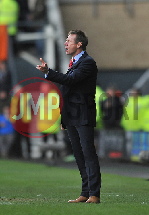 Nottingham Forest Manager, Stuart Pearce - Photo mandatory by-line: Dougie Allward/JMP - Mobile: 07966 386802 - 17/01/2015 - SPORT - Football - Derby - iPro Stadium - Derby County v Nottingham Forest - Sky Bet Championship