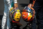 October 27-29, 2017: Mexican Grand Prix. Lewis Hamilton (GBR), Mercedes AMG Petronas Motorsport, F1 W08, Max Verstappen (DEU), Red Bull Racing, RB13