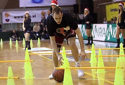 Dejan Mlakar na Dnevu slovenske moske kosarke, 26. decembra 2008, na Planini, Kranj, Slovenija. (Photo by Vid Ponikvar / Sportida)