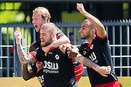 WAALWIJK, RKC Waalwijk - Excelsior Rotterdam, voetbal play-off promotie / degradatie, seizoen 2013-2014, 18-05-2014, Mandemakers Stadion, Excelsior speler Lars Veldwijk (M) heeft de 0-1 gescoord.