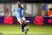Manchester City forward Tessa Wullaert (25) during the FA Women's Super League match between Manchester City Women and Everton Women at the Sport City Academy Stadium, Manchester, United Kingdom on 20 February 2019.