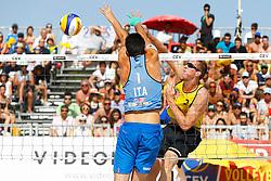 20140607 ITA: EK Beachvolleybal, Cagliari<br /> Christiaan Varenhorst<br /> ©2014-FotoHoogendoorn.nl / Pim Waslander