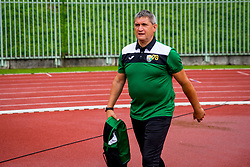 Marijan Pusnik, head coach of NK Rudar during football match between NK Rudar Velenje and Maribor in 1st Round of Prva liga Telekom Slovenije 2018/19, on July 22, 2018 in Mestni stadion ob Jezeru, Velenje , Slovenia. Photo by Ziga Zupan / Sportida