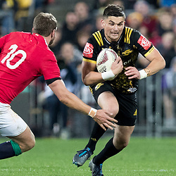 Otere Black during game 8 of the British and Irish Lions 2017 Tour of New Zealand,The match between  Hurricanes and British and Irish Lions, Westpac Stadium, Wellington, Tuesday 27th June 2017<br /> (Photo by Kevin Booth Steve Haag Sports)<br /> <br /> Images for social media must have consent from Steve Haag