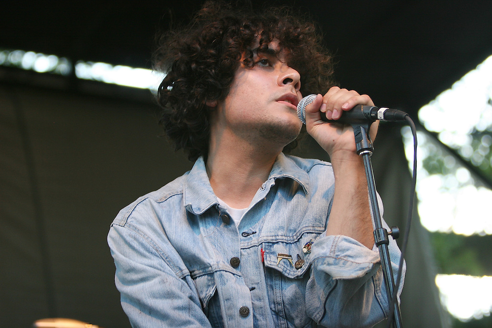 CHICAGO - JULY 18:  Alan Palomo of Neon Indian performs onstage during the 2010 Pitchfork Music Festival at Union Park on July 18, 2010 in Chicago, Illinois.  (Photo by Roger Kisby/Getty Images)