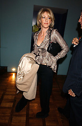 LADY COSIMA SOMERSET at a party to celebrate the publication of 'E is for Eating' by Tom Parker Bowles held at Kensington Place, 201 Kensington Church Street, London W8 on 3rd November 2004.<br />