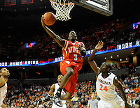 VMI Keydets fall to Virginia in men's basketball, 107-97