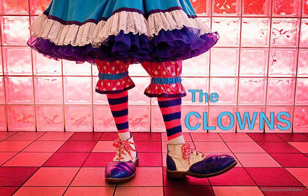 """My name is Crystal the Clown: professional fool,"" Cindy said with a big smile as she greeted customers entering Rochester's Cheeburger Cheeburger restaurant."
