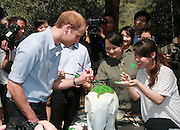 XISHUANGBANNA, CHINA - MARCH 04: (CHINA OUT) <br /> <br /> The Duke Of Cambridge Visits Yunnan's Xishuangbanna<br /> <br /> Prince William, Duke of Cambridge accepts a picture album presented by a local photographer for wild animals Xi Zhinong during his visit Dai Autonomous Prefecture of Xishuangbanna/Sipsongpanna on March 4, 2015 in Xishuangbanna, Yunnan province of China. The Duke of Cambridge is on a four-day visit to China. He is the first senior British royal to visit China since the Queen and Prince Philip visited in 1986. <br /> ©Exclusivepix Media