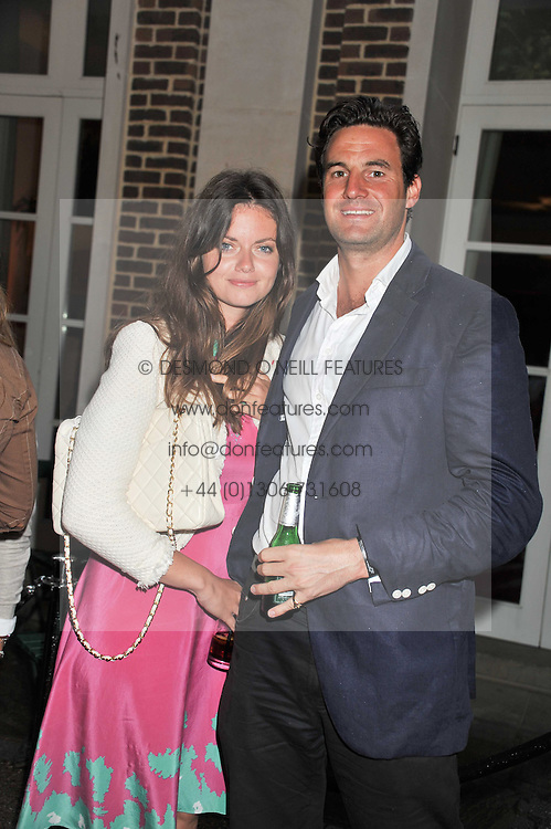 LADY NATASHA RUFUS-ISAACS and RUPERT FINCH a former boyfriend of HRH The Duchess of Cambridge at the Veuve Clicquot Mint Polo in The Park after party held at The Hurlingham Club, Ranelagh Gardens, London SW6 on 5th June 2011.