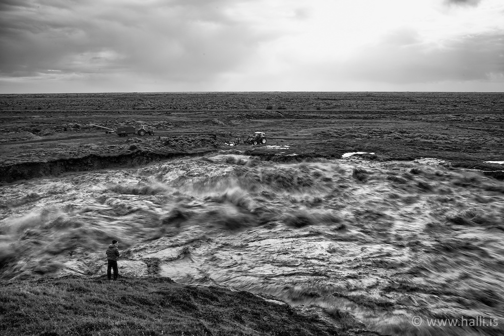 Skafta river flood, Iceland - Skaftárhlaup 2015