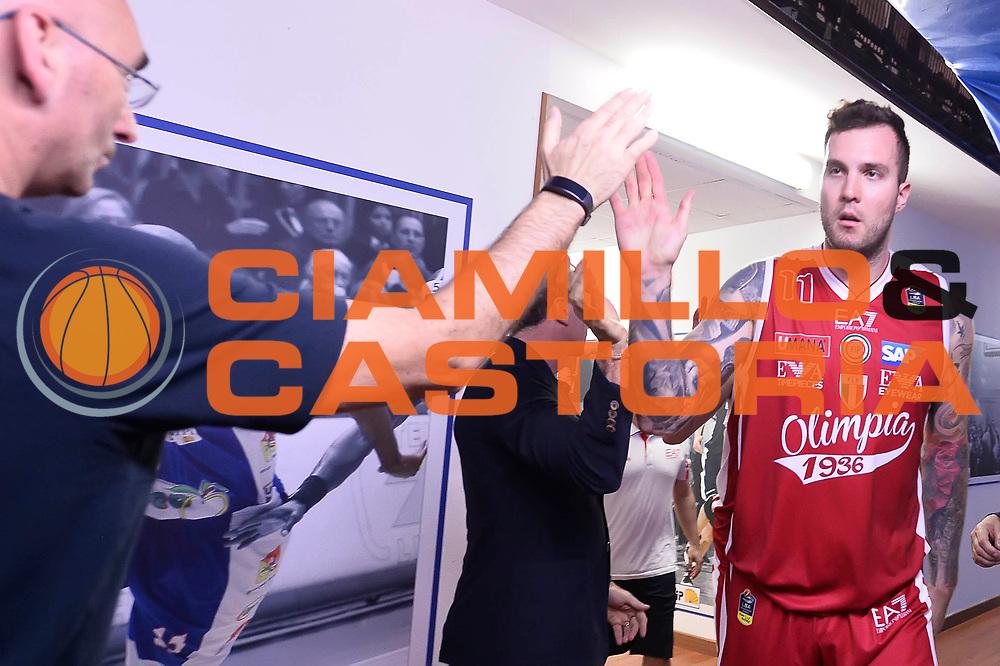 Miroslav Raduljica <br /> Betaland Capo D'Orlando - EA7 Emporio Armani Olimpia Milano<br /> Playoff Gara 4<br /> Lega Basket 2016/2017<br /> Capo D'Orlando 18/05/2017<br /> Foto Ciamillo-Castoria