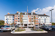 Exterior image of Brightview Perry Hall Maryland Senior Apartments by Jeffrey Sauers of Commercial Photographics, Architectural Photo Artistry in Washington DC, Virginia to Florida and PA to New England