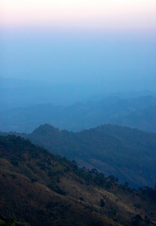 Mindat, Chin State, Myanmar.