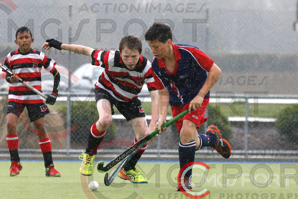 COUNTIES MANUKAU V HOROWHENUA DAY 3<br /> U13 BOYS HATCH CUP FROM NUNWEEK PARK IN Christchurch. OCTOBER 3RD - 8TH , 2016.<br /> Photo by CMGSPORT