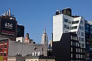 New York Chelsea area elevated view. Le quartier de Chelsea vue du haut