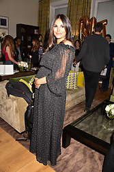 Holly Scarsella at the Rosie Fortescue Jewellery Launch, Brown's Hotel London England. 10 May 2017.<br /> Photo by Dominic O'Neill/SilverHub 0203 174 1069 sales@silverhubmedia.com