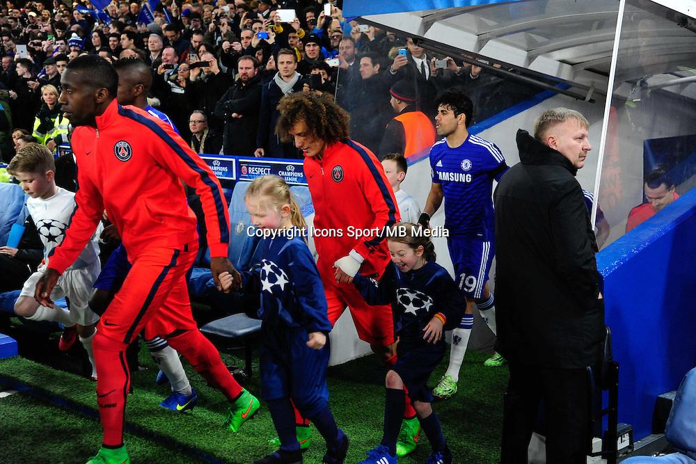 David LUIZ - 11.03.2015 - Chelsea / Paris Saint Germain - 1/8Finale retour Champions League<br /> Photo : Dave Winter / Icon Sport