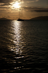 Cruising in the Seychelles inner islands, 5-11 December 2011