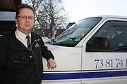 John Frode Stokke, drosjeeier og daglig leder av Selbu Drosjesentral (Selbu Taxi).