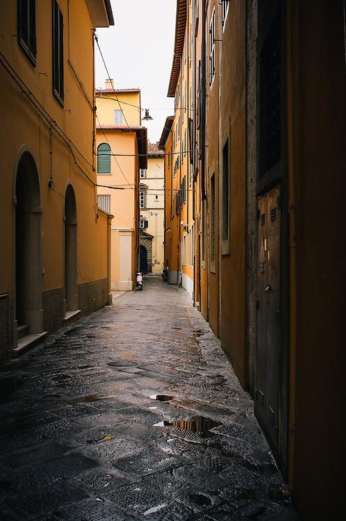 Street scenes of Pisa, Italy