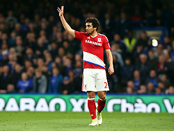 May 8, 2017 - Chelsea, Greater London, United Kingdom - Fabio of Middlesbrough.during Premier League match between Chelsea and Middlesbrough at Stamford Bridge, London, England on 08 May 2017. (Credit Image: © Kieran Galvin/NurPhoto via ZUMA Press)