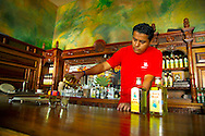 Oaxaca, Mexico, October 2005. A tequila bar in Oaxaca. Mexico is a colorful country with remnants of many ancient civilisations, mixed cultures, and two oceans. Photo by Frits Meyst/Adventure4ever.com