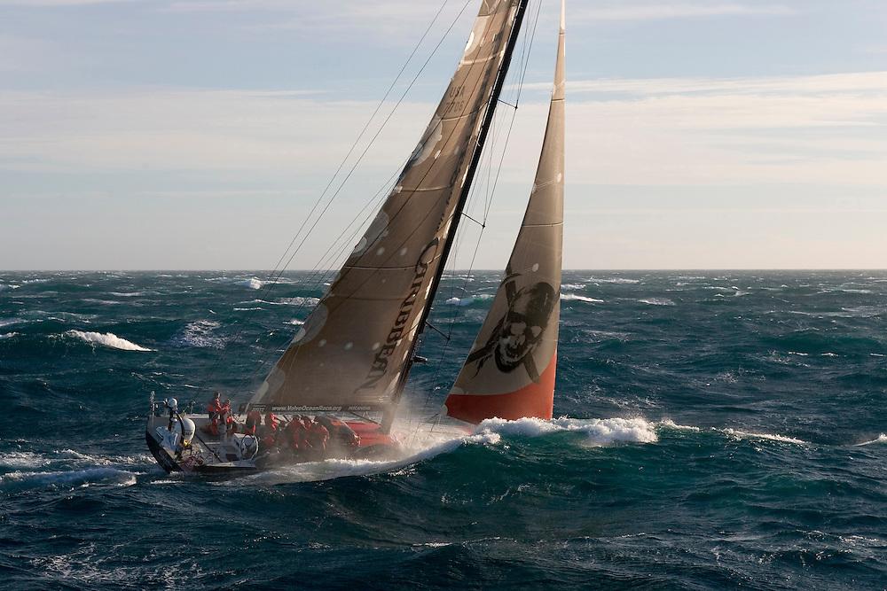 Volvo Ocean Race 2005-2006. Leg 3 start, Melbourne, Australia, 12/2/06.
