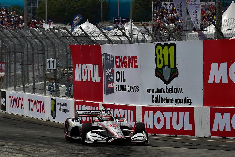 Will Power, Team Penske Chevrolet<br /> Sunday 15 April 2018<br /> Toyota Grand Prix of Long Beach<br /> Verizon IndyCar Series<br /> Streets of Long Beach, California USA<br /> World Copyright: Scott R LePage<br /> LAT Images