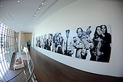 The third floor gathering place at the National Center for Civil and Human Rights displays a large changeable mural Tuesday, June 10, 2014, in Atlanta. The center opens June 23 after almost 10 years of preparations. David Tulis / AJC Special