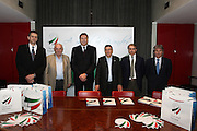 DESCRIZIONE : Milano Mediolanum Forum di Assago Commissione FIBA in visita per assegnazione dei Mondiali 2014<br /> GIOCATORE : Boris Stankovic Markus Studar Predrag Bogosavljev Massimo Cilli Dino Meneghin <br /> SQUADRA : Fiba Fip<br /> EVENTO : Visita per assegnazione dei Mondiali 2014<br /> GARA :<br /> DATA : 31/03/2009<br /> CATEGORIA : Ritratto<br /> SPORT : Pallacanestro<br /> AUTORE : Agenzia Ciamillo-Castoria/G.Ciamillo