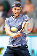 Joao Sousa during the Madrid Open at Manzanares Park Tennis Centre, Madrid<br /> Picture by EXPA Pictures/Focus Images Ltd 07814482222<br /> 06/05/2016<br /> ***UK &amp; IRELAND ONLY***<br /> EXPA-ESP-160506-0040.jpg