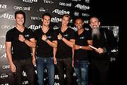 Models wearing Alpina watches