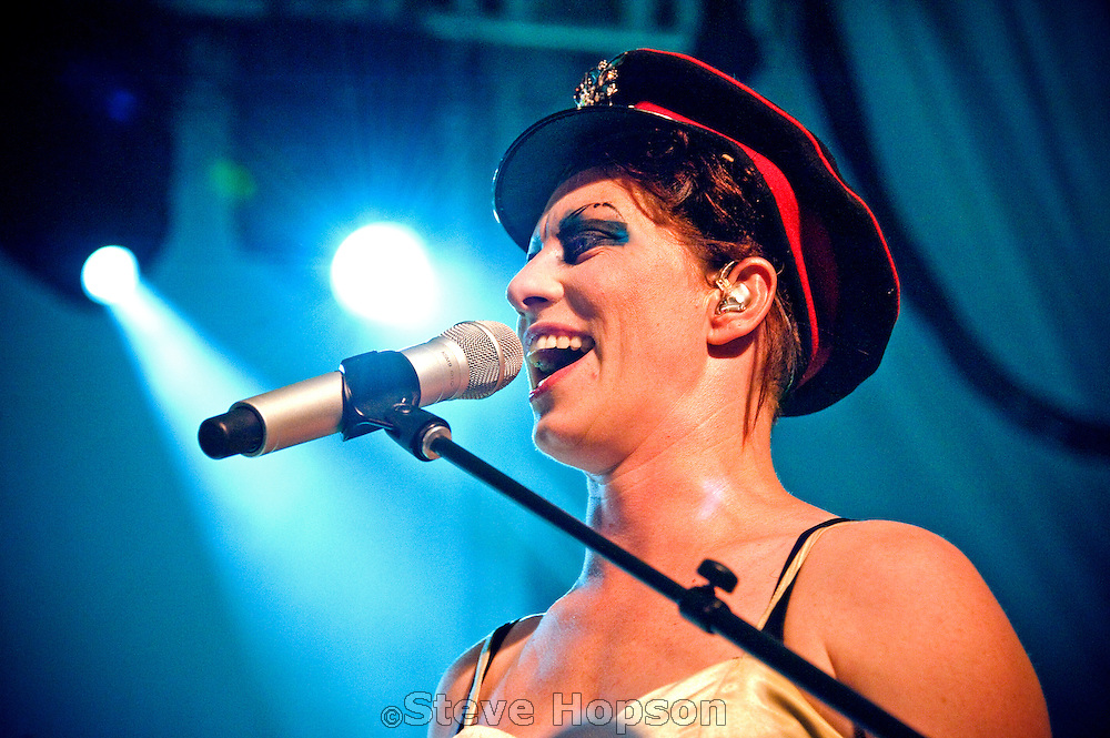 Amanda Palmer performing at Stubb's BBQ, Austin, Texas, September 19, 2012. Amanda MacKinnon Gaiman Palmer (born April 30, 1976), sometimes known as Amanda Fucking Palmer, is an American performer who first rose to prominence as the lead singer, pianist, and lyricist/composer of the duo The Dresden Dolls.