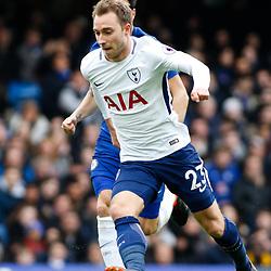 01,04,2018 Premier League Chelsea and Tottenham Hotspur