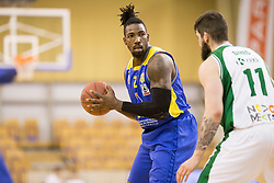 Staphon Javonnie Blair of KK Sencur GGD during basketball match between KK Krka and KK Sencur GGD in 1st Semifinal of Slovenian Spar Cup 2017/18, on February 16, 2018 in Sports hall Tivoli, Ljubljana, Slovenia. Photo by Urban Urbanc / Sportida