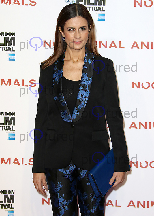 Livia Firth, BFI London Film Festival 2016: Nocturnal Animals - Headline Gala, Odeon Leicester Square, London UK, 14 October 2016, Photo by Brett D. Cove
