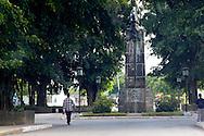 Monument in Mantua, Pinar del Rio, Cuba.
