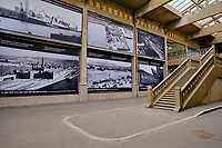 France, Manche (50), Cherbourg-Octeville, l'ancienne gare maritime transatlantique Art Déco, construit entre 1928 et 1933, La Cité de la Mer, musée océanographique // France, Normandy, Manche department, Cherbourg-Octeville, the old transatlantic Art Deco ferry terminal, built between 1928 and 1933, La Cité de la Mer, oceanographic museum